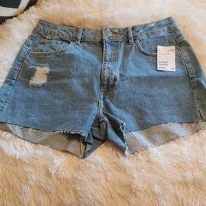 H&M Divided High Waisted Shorts
